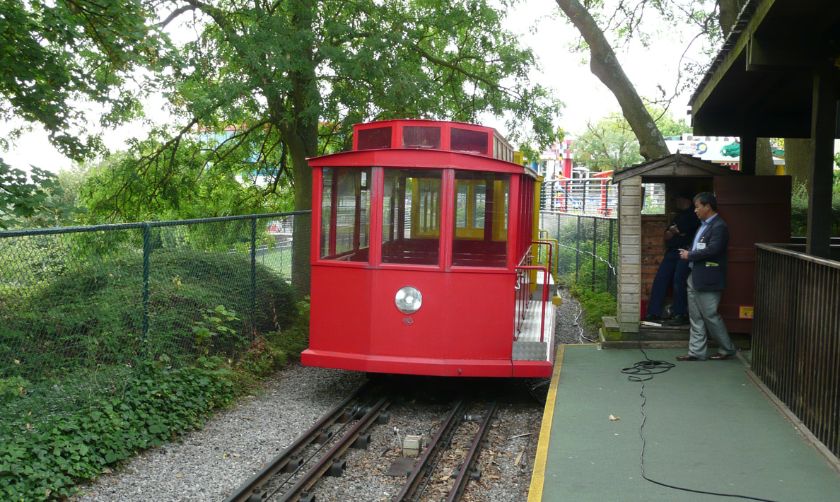 Funicular railway system, Legoland Windsor Park Hill Train | Windsor