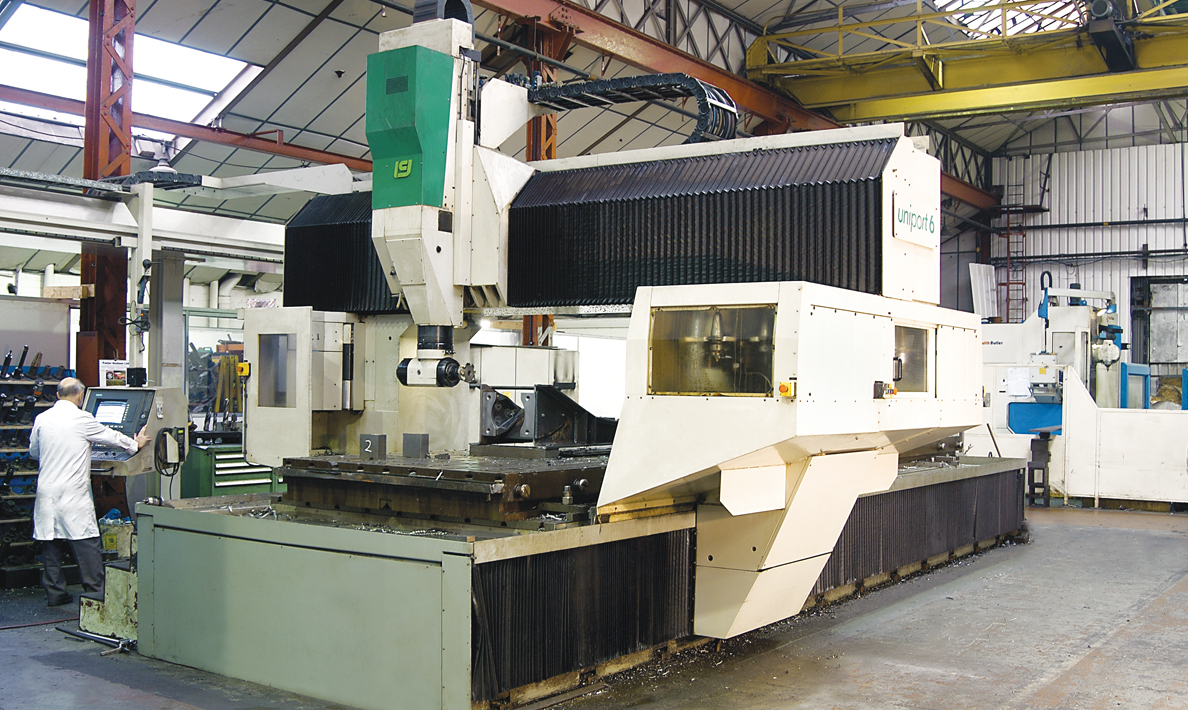 CNC multi axis machining centre