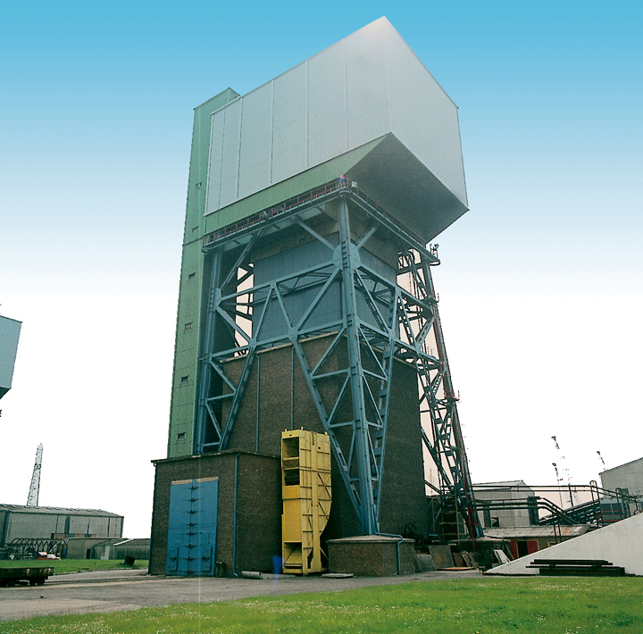 Headgear incorporating tower mounted winder | Kellingley