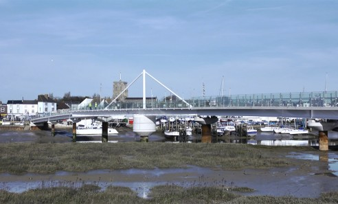Adur Ferry Swing Bridge, Shoreham