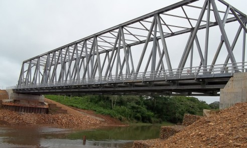 New bridge completed | Kendal Bridge, Belize