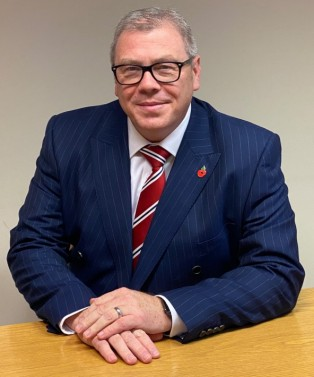 Martin Kelly, Qualter Hall's new Managing Director